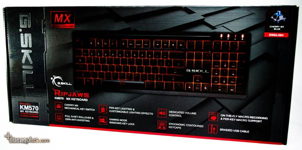 G.Skill Ripjaws KM570 MX Keyboard Mekanik