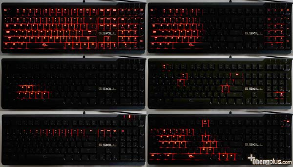 Lampu mode G.Skill Ripjaws KM570 MX Keyboard Mekanik