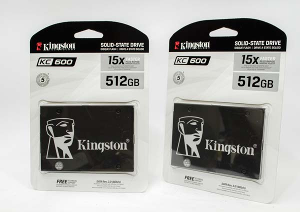 Kemasan SSD Kingston KC600