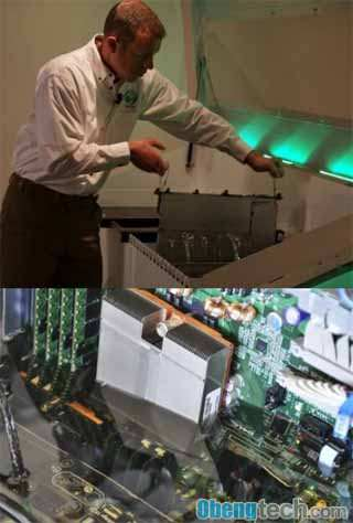 Intel Uses Mineral Oil to Cool Servers, Finds Success