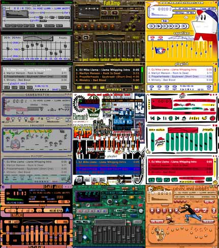 download Winamp Skin collection