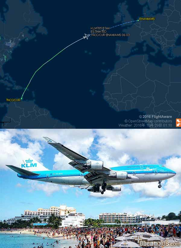 Last Flight KLM Boeing 747 785