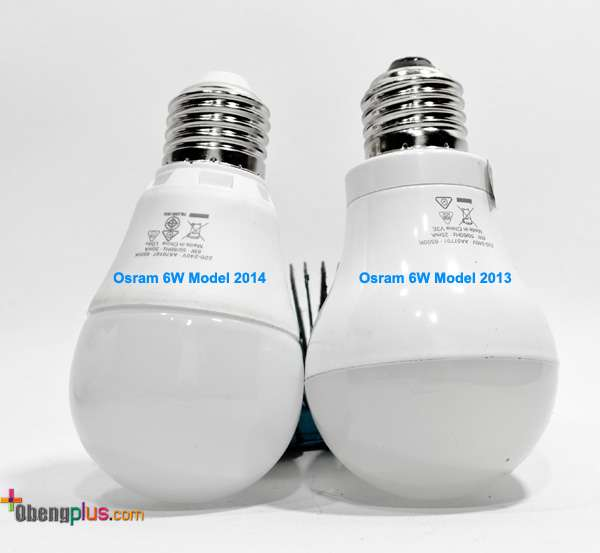 ampu LED Osram model 2013 dan 2014