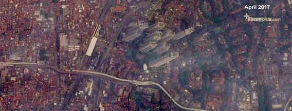 foto satelit Google Maps April 2017 Jakarta