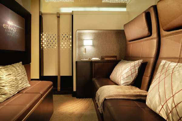 First Class Etihad Airlines Airbus A380
