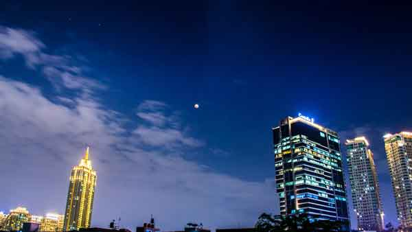 Super Blue Blood Moon bulan purnama Jakarta 31 Januari 2018