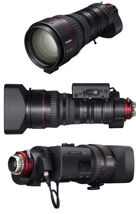 Lensa Canon Cine-Servo 50-1000mm T5.0-8.9 Ultra-Telephoto Zoom