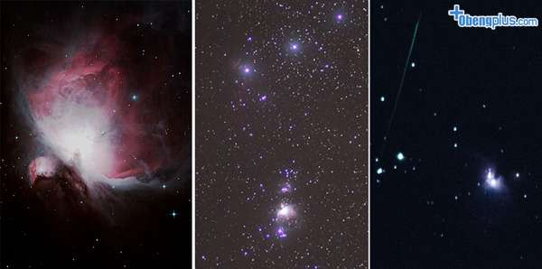 Orion Nebula dari camera Telezoom