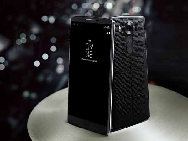 LG V10 smartphone Android OS Android 6