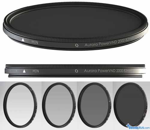 Filter Aurora Aperture PowerXND 2000 dari 4 ND sampai 11 ND