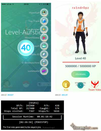 Pokemon Go cheat