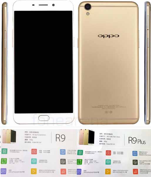 Oppo R9 dan Oppo R9 Plus Smartphone Android layar Full HD Amoled Display