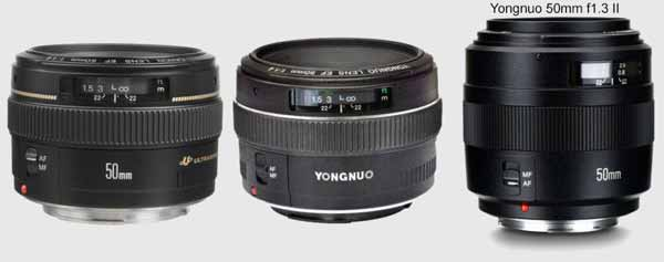 firmware update yongnuo 50mm f1 4