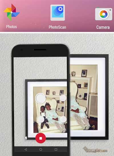 Repro foto lama dengan scanner photo smartohone Google PhotoScan