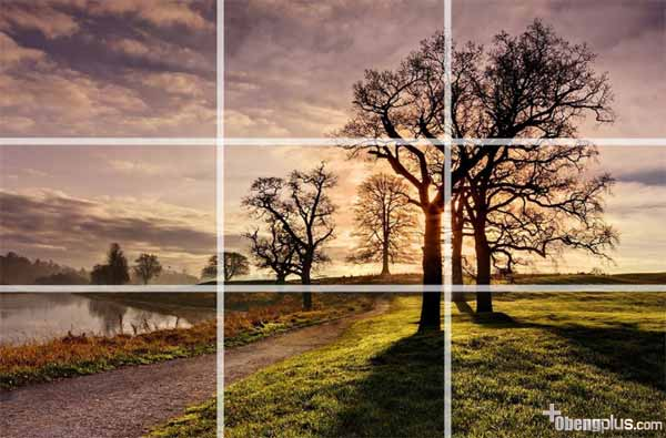 komposisi foto The Rule of thirds
