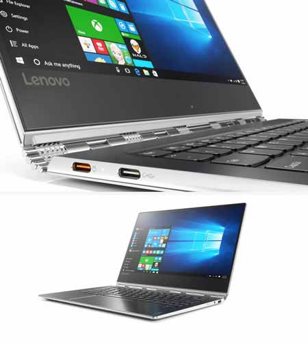 Notebook Lenovo Yoga 910 dengan procesor Kaby Lake