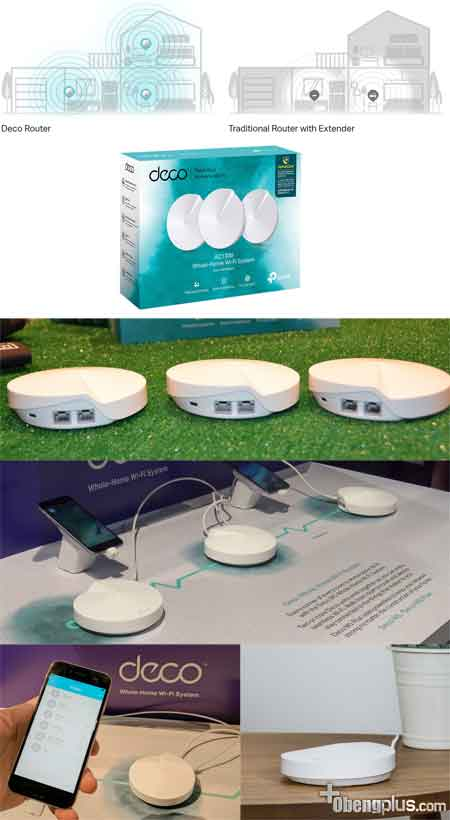 TP-Link M5 Deco WIFI Router dan Access Point