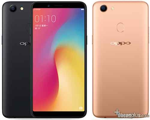 Oppo A73 model slim Fullview Mediatek MT6737T