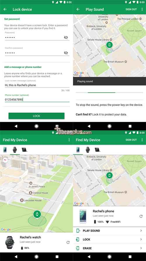 Android Find My Device penganti Android Manager