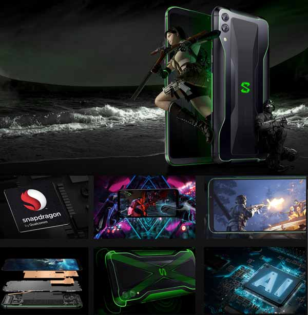 Xiaomi Black Shark 2 2019 Snapdragon 855 dengan Liquid Cooling