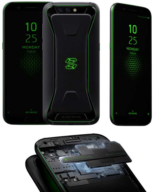 Xiaomi Black Shark Snapdragon 845 dengan Liquid Cooling