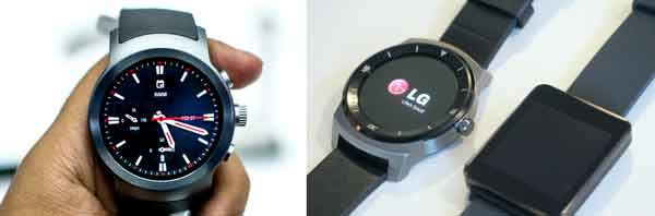 Smartwatch LG Watch Timepiece seperti jam analog