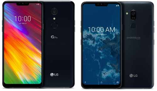 LG G7 One Android One dan LG G7 Fit