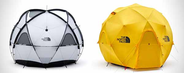 Tenda North Face Geodome 4 tahan angin dua lapis
