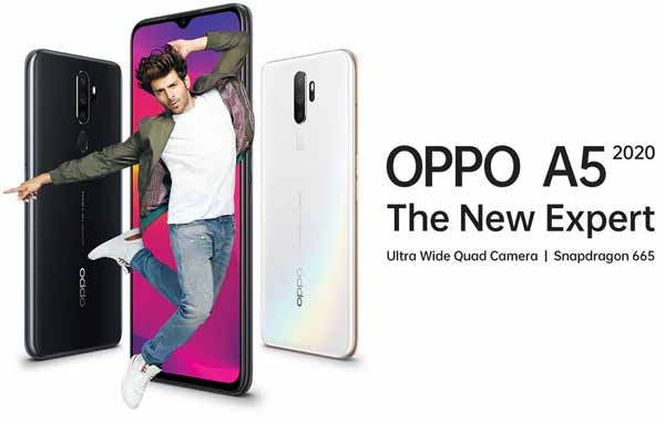 Oppo A5 model 2020 Snapdragon 665