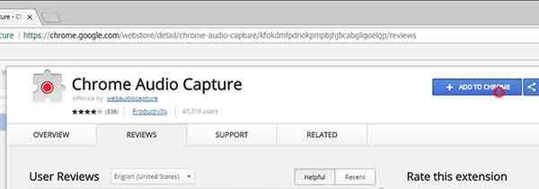 Download link Chrome Audio Capture