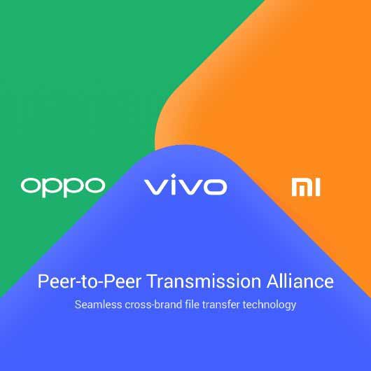 TOppo Vivo Xiaomi Alliance Peer to Peer