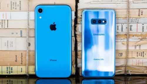 Samsung Galaxy vs iPhone