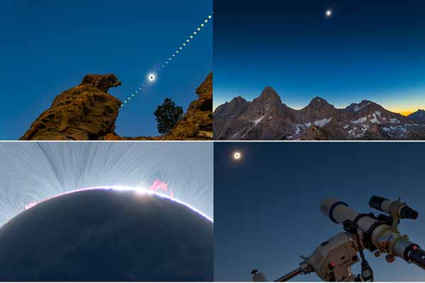 TImelapse The Moon in Motion 2 tahun di selesaikan membuat video timelapse gerhana matahari