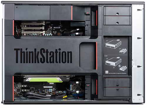 Lenovo ThinkStation P720 dan P920 workstations 48GB Quadro RTX 8000