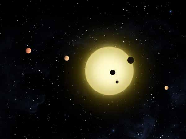 Exoplanet about planet out there