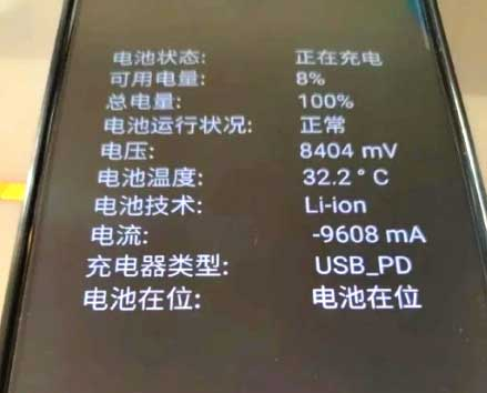 Fast Charger Nubia 80W What the